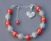 Happy Retirement Gift,  Retirement Jewelry, Happy Retirement Charm Bracelet