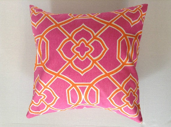 Decorative Throw Pillow Cover/Dorm Pillow/Porch by AggieRay