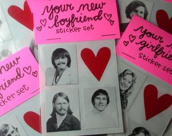 your new boyfriend/girlfriend sticker multi-pack