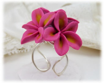 Plumeria Cluster Ring - Plumeria Jewelry Collection