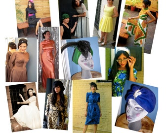 """E-Book """"Vintage 101""""  Clothing and Accessories /  How To Guide to Vintage Clothing and Accessories"""