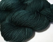 hand dyed yarn - SW Merino Lace - To The Depths colorway (dyelot 311)