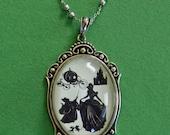 SALE 20% OFF // Coupon code: SALE20 // Cinderella Necklace, pendant on chain