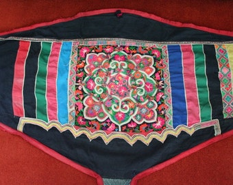 Textiles -  Hmong fabric / Hmong costume/ Miao fabric / Hmong embroidery panels - 1029