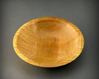 Curly Figured Maple Wooden Bowl  (BW336)
