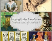 "Online Art Class ""Study Under The Masters: Portraits and Self-Portraits"""