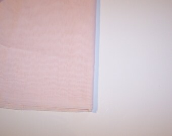 "5.66 Yards~ADO Seamless 118"" wide Pink Batiste Drapery FABRIC-Polyester-NEW"