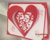 Victorian Valetine Card
