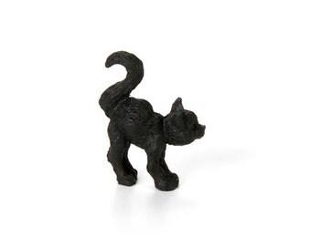 Miniature Black Cat