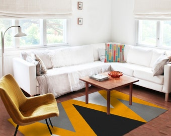 Area rugs, accent rugs, Decorative Rugs, living room rugs, 5x8 rugs, modern rugs, carpet, mustard rugs, contemporary rugs, affordable rugs