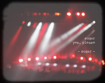 Maroon Music - Sugar (Maroon 5 lyrics Adam Levine concert flaming red white black blurry light beam photography vibrant romantic love quote)