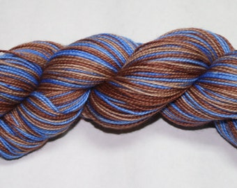 Jamie's Kilt Self Striping Hand Dyed Sock Yarn