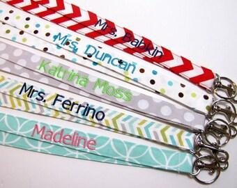 Teacher Gift Lanyards, Teacher Lanyard, Gift  Nurse Lanyard, School Name, HORZIONTAL  Teacher Gift Appreciation Teacher Gift, Disney Lanyard