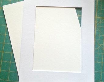 Custom 8x10-11x14 inch Window Mat
