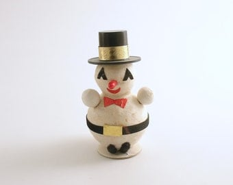 Snowman Vintage Christmas Decoration Snow Man