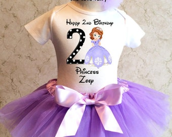 personalized birthday shirts and tutu outfits by thetutufairy on princess sofia birthday cake dublin