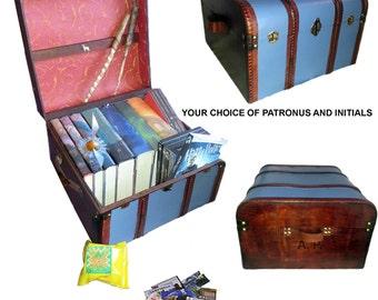 Ravenclaw Blue Hogwarts Trunk - Patronus Edition