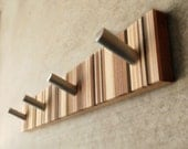 Coat Rack, Modern Coat Rack, Wooden Coat Rack One Of A Kind From Recycled Wood