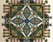 Cross Stitch Pattern, The Knotgarden Mandala Garden Counted Cross Stitch Pattern by Chatelaine DD
