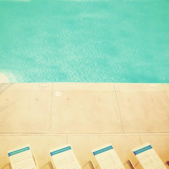 Hip photography swimming pool minimalist turquoise water aquamarine blue motel east coast dreamy mid century water photo summer