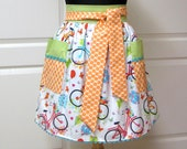 SPECIAL ORDER for Mary Jo - Womens Retro Modern Chic Half Aprons
