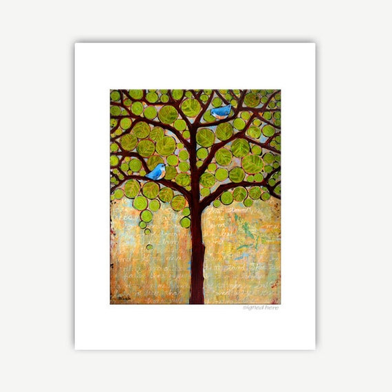 Boughs in Leaf Print | Various Sizes