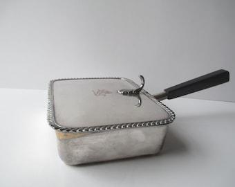 Vintage Silverplate Silent Butler - Retro