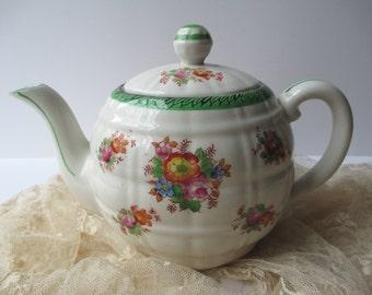 Vintage Floral Teapot - So Charming