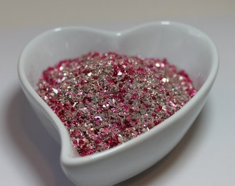 German Glass Glitter - Vintage Rose Medley