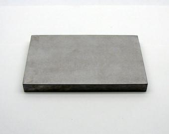 Steel Bench Block - 4 x 6 x 1/2 Inch