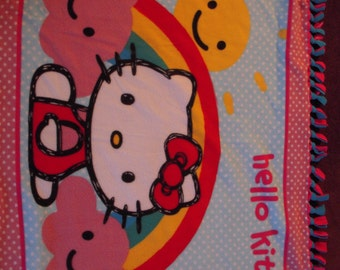 Hello Kitty NoSew Fleece Blanket