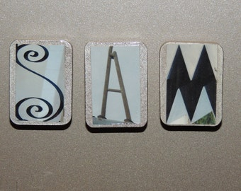 your 3 letter name in magnets