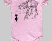 My Star Wars AT-AT Pet - Baby Boy or Girl Onesie Bodysuit (Star Wars Baby Boy or Girl Clothing)