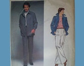 Vintage 70s Vogue Christian Dior Mens Jacket Pants Pattern 46