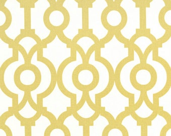 Clearance Premier Prints Lyon- Saffron - Gold Fabric - Fabric by the Yard Yellow Fabric