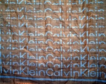 Calvin Klein Cotton Scarf  Vintage