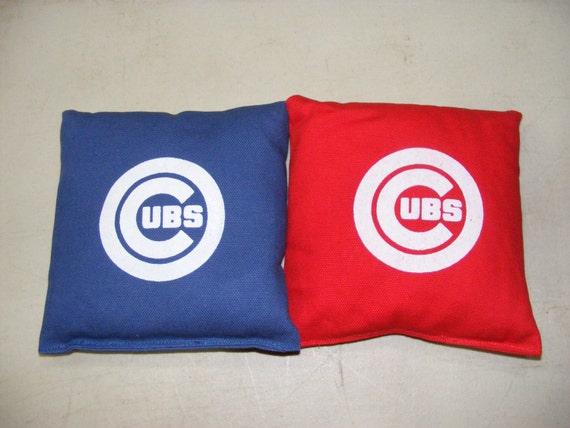 Bean Bags Chicago Cubs