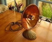 Vintage parabolic heater L&H electrics 1940's