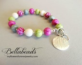 Remembrance Bracelets, Memorial Beads, Flower Petal Jewelry, Memorial Jewelry, Memorial Gift Idea, Clavelle Bracelet