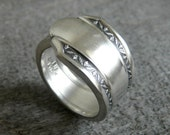 Antique Spoon Ring, Silver Pattern: Mary Lee 1932