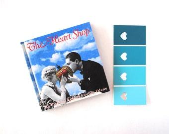 the heart shop vintage book richard kehl cooper edens keepsake romance fantasy collage art blue lantern books out of print