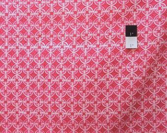 Dena Designs DF81 Tea Garden Oolong Fuchsia Cotton Fabric 1 Yd