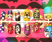 Adventure Time Nail Art Hand Painted 12-Piece Set