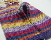 Longies Shorties Pattern Crochet Adjustable Size
