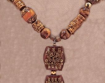 Nepali Tribal Necklace - Potpourri of Beads