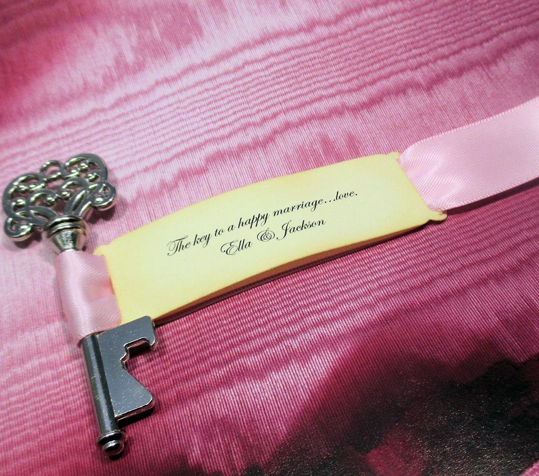 rustic key bottle opener wedding favor set of 10. Black Bedroom Furniture Sets. Home Design Ideas