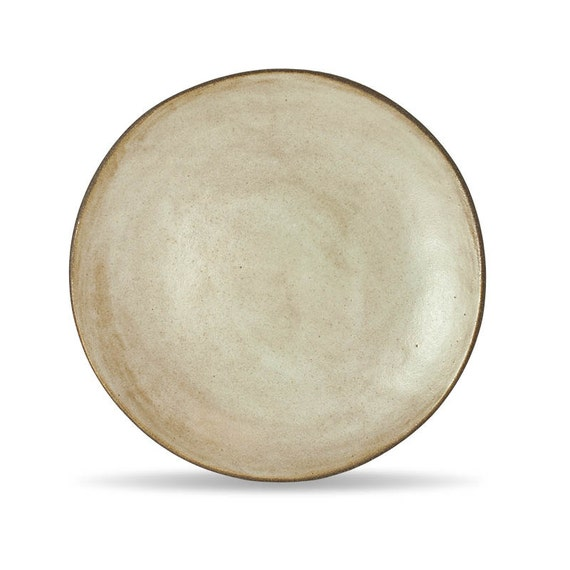 rustic white dinner plate handmade plate cheese by