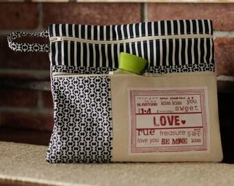 Love Zipper Bag Pattern