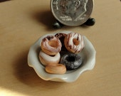 Dollhouse Miniature Food Loose Doughnuts
