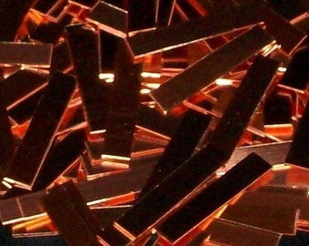 Copper Wrap Ring Blanks - 20 gauge, stamping blanks, metal blanks, ring blanks, tags, strips, rectangle blanks, rectangular blanks